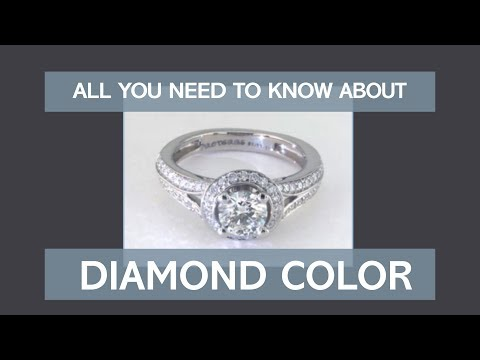 Diamond Color Chart  Buying Guide Understand Grade Scale