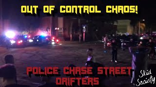 CARS VS COPS -  RECKLESS Street Drifter POLICE CHASES #14 - FNF