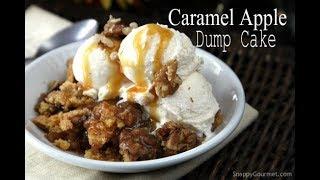 Caramel Apple Dump Cake Recipe