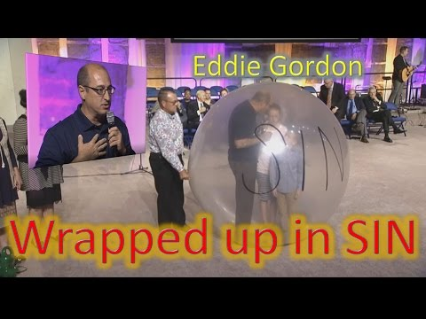 UPCI General Conference 2016 ~ Preaching from inside a 6 Foot Balloon