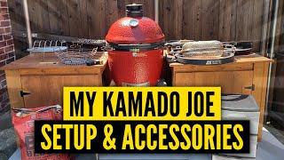 My Kamado Joe Table, Setup & Accessories | BEST Accessories for the Kamado Joe 2020 | Table Review