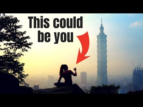 Taipei Travel Vlog: Taipei 101, Elephant Mountain & Shilin Night Market