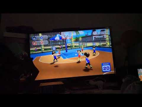 Wii sports resorts Basketball How to make A Slam Dunk