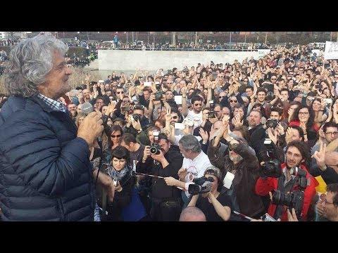 Beppe Grillo & M5S: Expotour Milano - HD