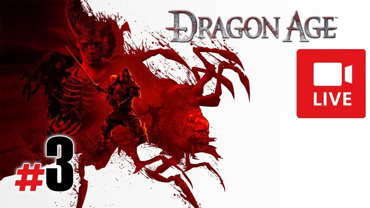 """[Archiwum] Live – Dragon Age: Początek (1) – [3/3] – """"Powrót do jaskini i Duncan"""""""