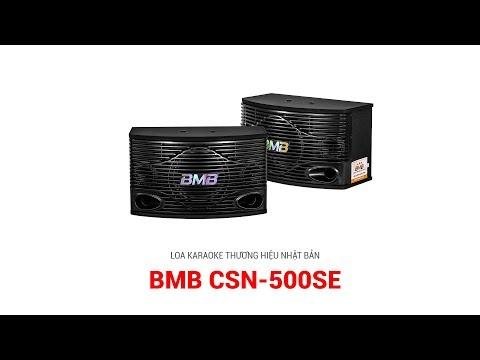 Loa BMB CSN 500SE Nhật Bản nhập khẩu bass 25cm karaoke tuyệt đỉnh