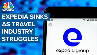 Expedia sinks after 'worst quarter' ever for travel industry