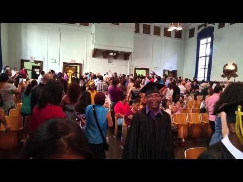 New Roberto Clemente graduating students walkup
