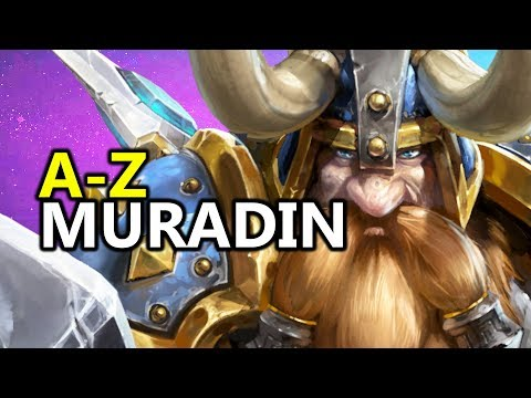 ♥ A - Z Muradin - Heroes of the Storm (HotS Gameplay)