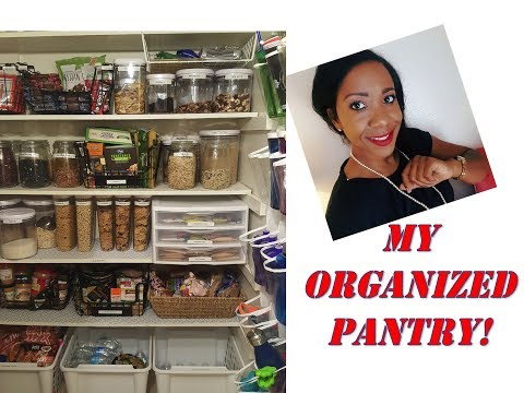 HOW TO ORGANIZE YOUR PANTRY! IKEA/ OXO CONTAINERS JUNE 2017