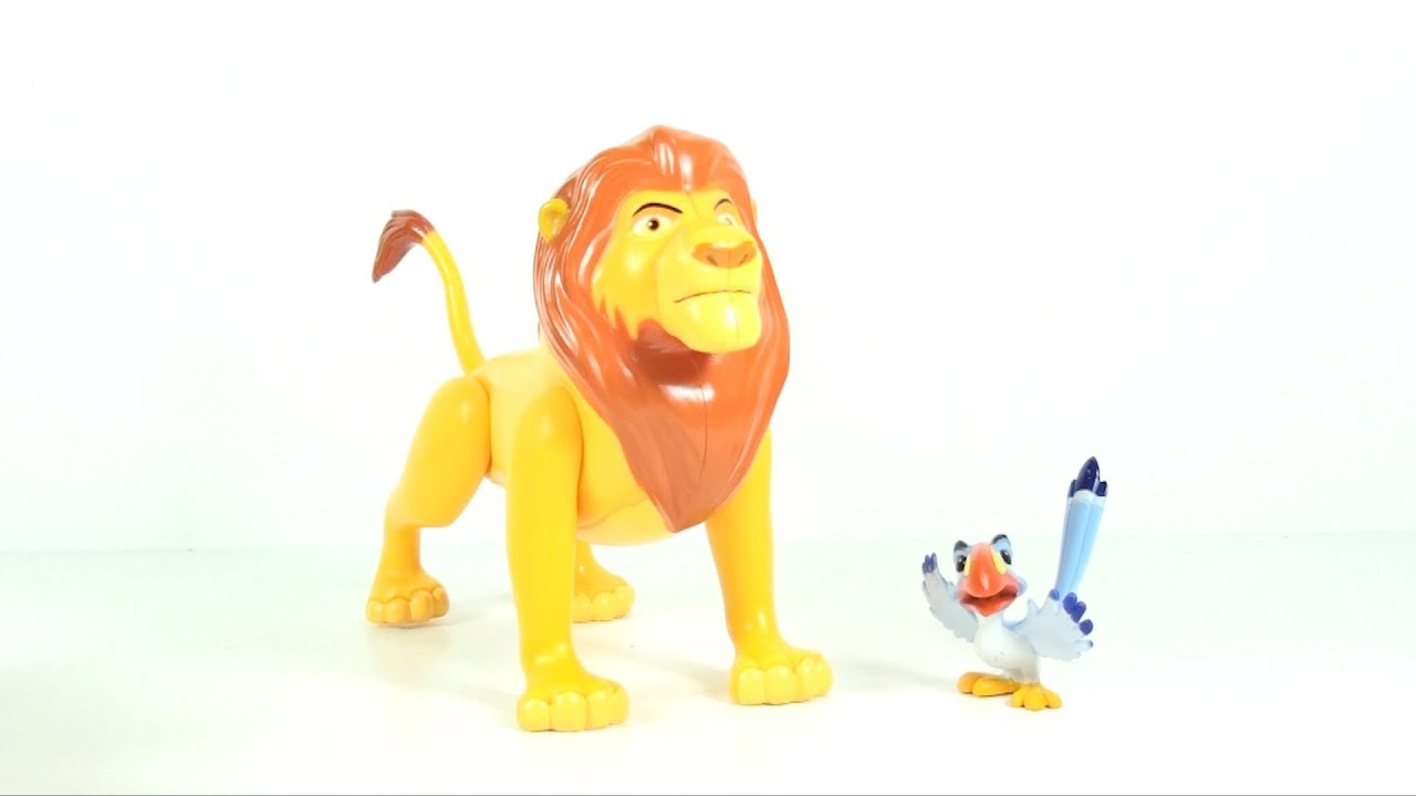 Video Review Of The Lion King Mufasa And Zazu Walmart Exclusive
