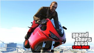 NIKO BELLIC IN GTA 5 (GTA 5 Funny Moments & Stunts fails)