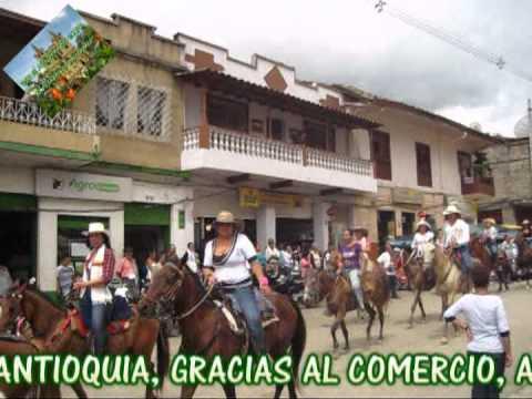 CAÑASGORDAS, CABALGATA SOLO DE MUJERES.mpg