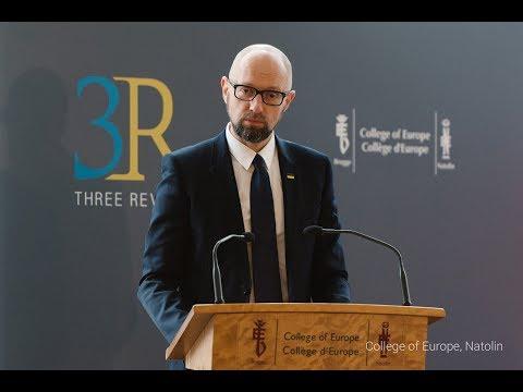 Arseniy Yatsenyuk – Russia as a threat