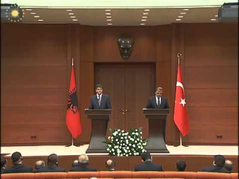 Arnavutluk Cumhurbaşkanı Bamir Topi'nin Ziyaret