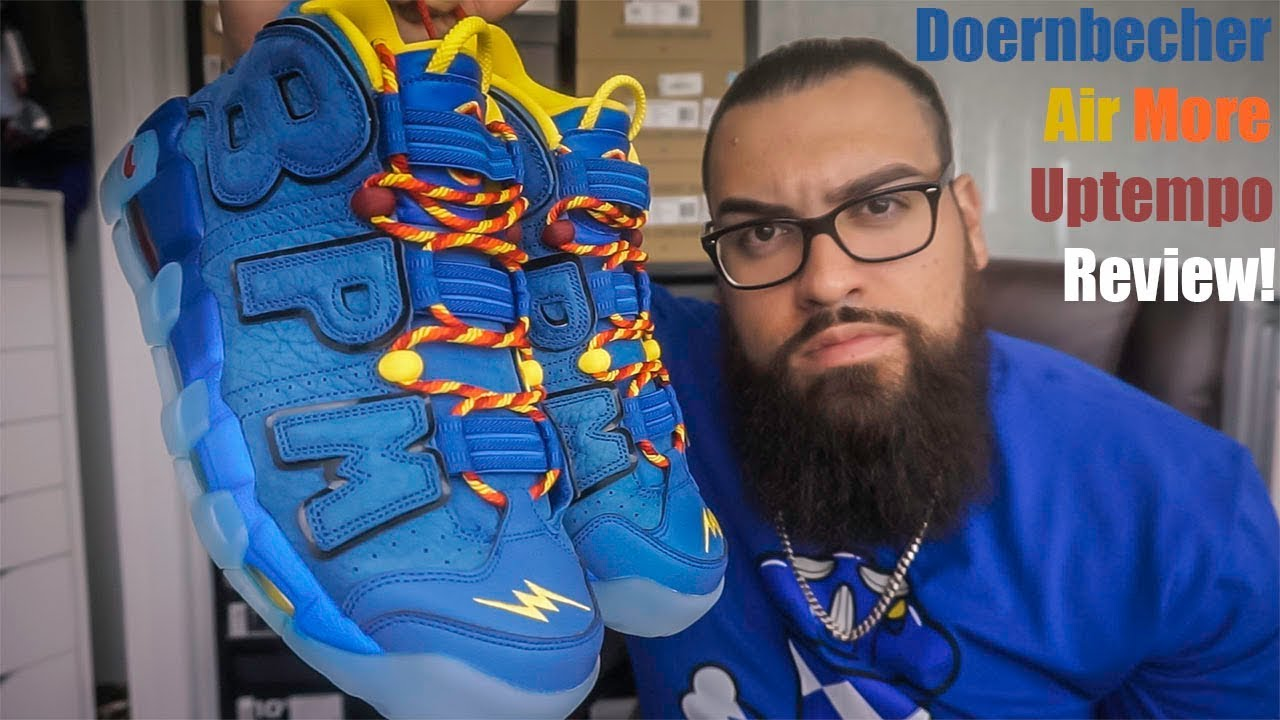 9b0b14b6aa7 NIKE DOERNBECHER FREESTYLE AIR MORE UPTEMPO UNBOXING/REVIEW - YouTube