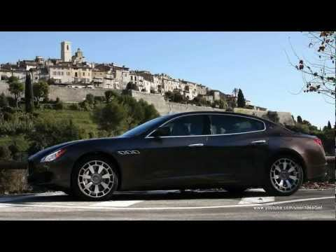 2013 Maserati Quattroporte Interiors and Exteriors Looks