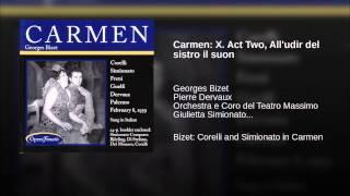 Play Carmen All'udir Del Sistro Il Suon