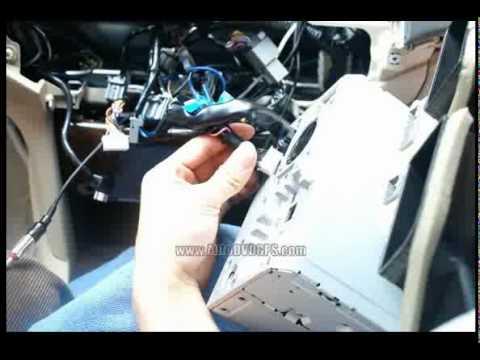 How To Install A Honda Accord Car Dvd Gps Youtube