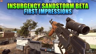 Insurgency Sandstorm Beta Is Here - First Impressions