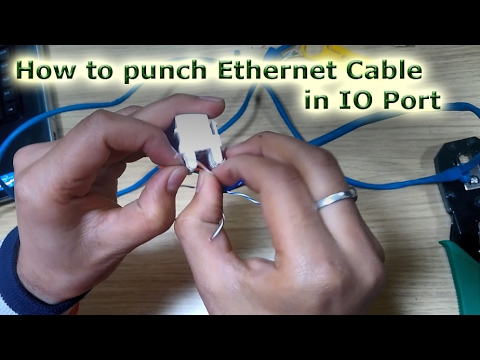How to punch Ethernet Cable in IO Port Internet Wire Color Code on telecom wire color code, electricity wire color code, power wire color code, electric wire color code, telephone wire color code, electronics wire color code, military wire color code, home wire color code, cable wire color code, automotive wire color code, radio wire color code, audio wire color code, computer wire color code,
