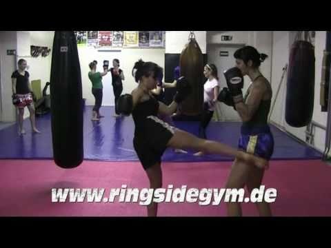 Thaiboxen Frauengruppe Ringside Gym Berlin