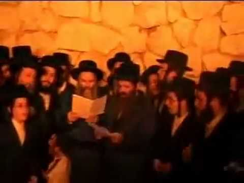 Bobov Rebbe Shlita on Lag BaOmer in Meron