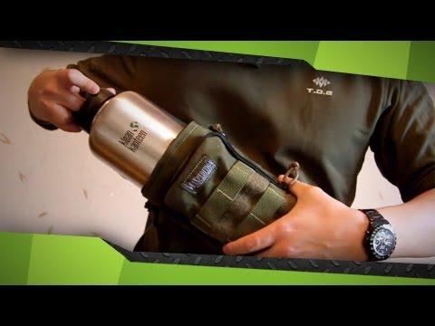 Maxpedition Bottle holder 12x5 (обзор подсумка)