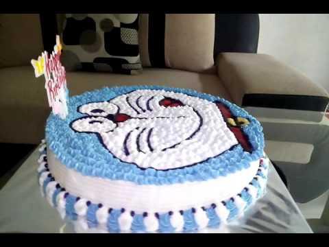 Kue Tart Karakter Doraemon Youtube