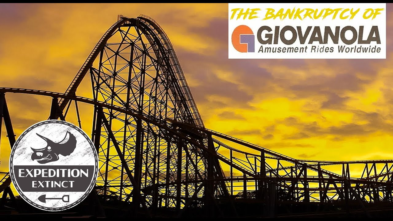 The Bankruptcy of Giovanola: Anaconda, Goliath & Titan - The Final Coasters | Expedition Extinct