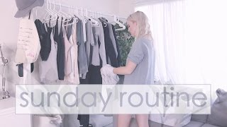 Sunday Life Admin Routine - What I do to Improve my Week