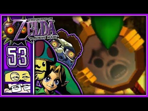 Moggy & Jonny lieben The Legend Of Zelda: Majoras Mask! - [Spiegelschild] #53