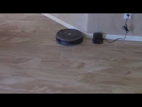 Roomba 880 can't see base or virtual wall: The Roomba 880 worked fine for a few days then started ignoring virtual walls and couldn't find the base/dock.  I have seen this with two different units.  My theory is that the IR sensor on the robot has gone bad.