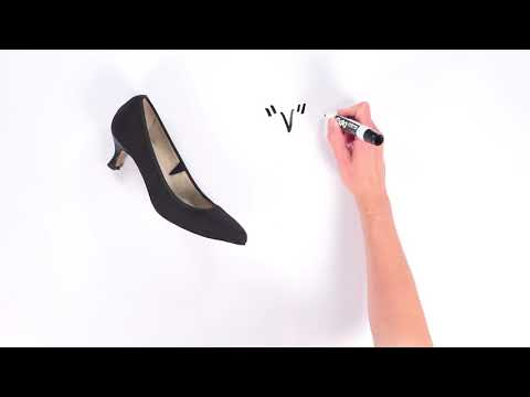 Video for Gia Kitten Heel this will open in a new window