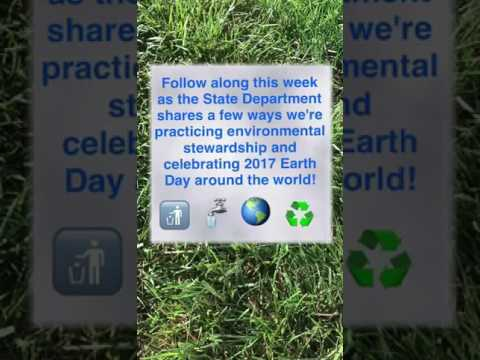 Snapchat Story: U. S. Embassy Copenhagen Celebrates Earth Day 2017