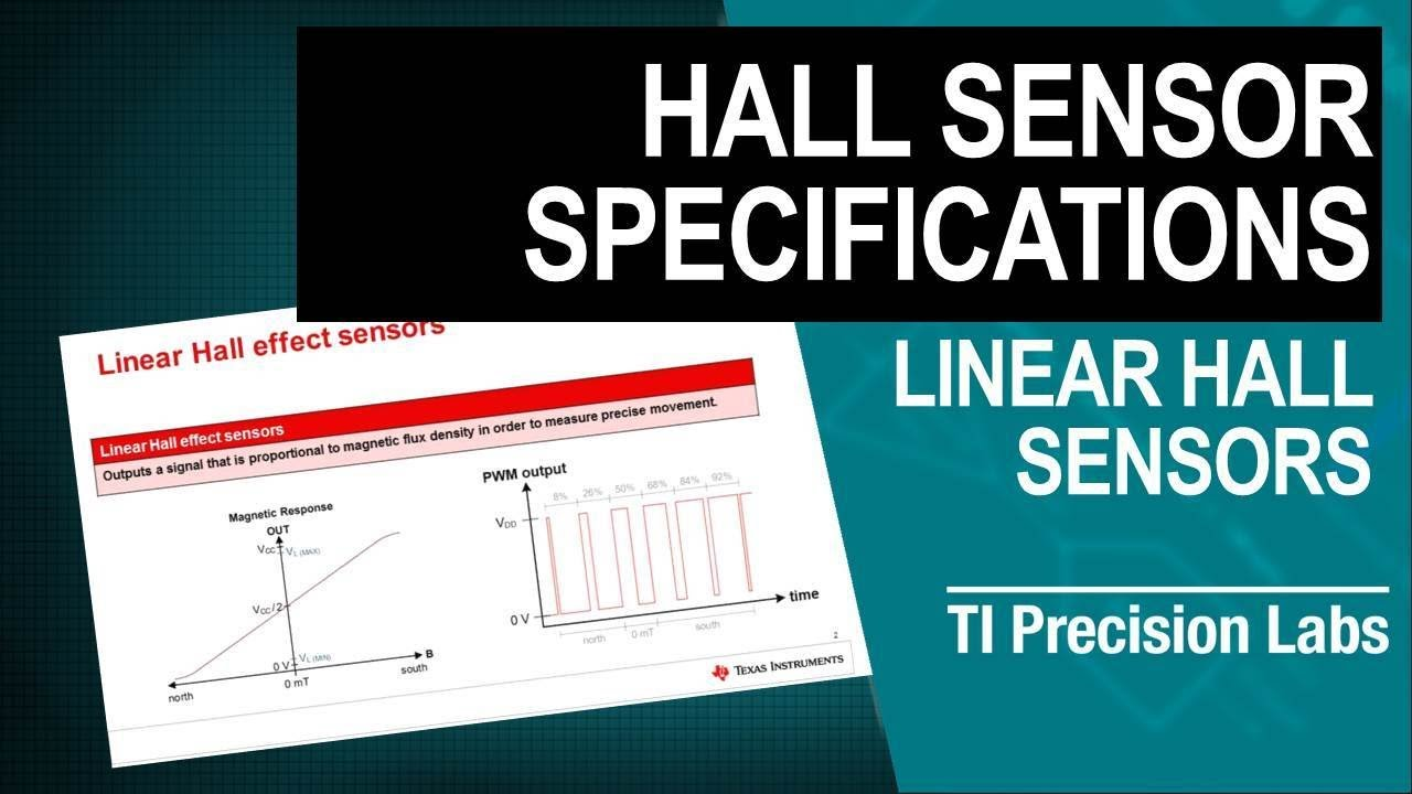 TI Precision Labs - Magnetic Sensors: Understanding Key Specifications of  Linear Hall Effect Positio