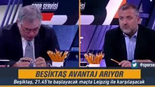 Mehmet Demirkol: Leipzig bir ara 20 kişiyle saldırabilir. Beşiktaş maç yorumu.