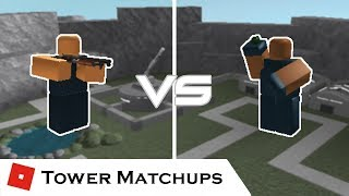 Short Range Mania | Tower Matchups | Tower Battles [ROBLOX] ft. 19wongs4