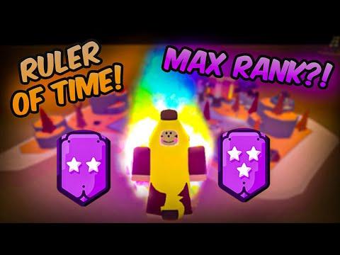 Reaching Ruler of Time Max Rank! (Super Power Fighting Simulator)