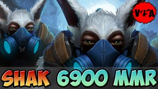 Dota 2 - Shak 6900 MMR Plays Meepo vol #1 - Ranked Match