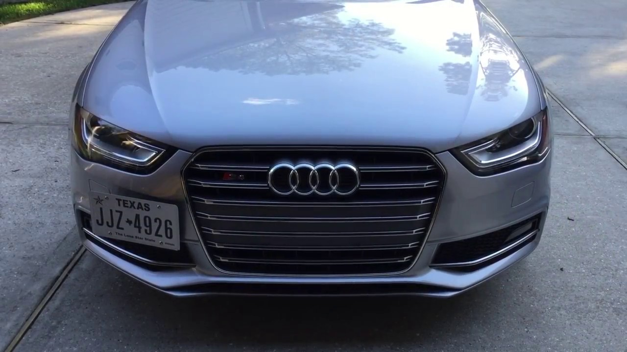 Audi Plate Frame >> Tow hook License Plate Mount Install - YouTube
