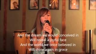 Connie Talbot - Heal The World (Karaoke/Instrumental)