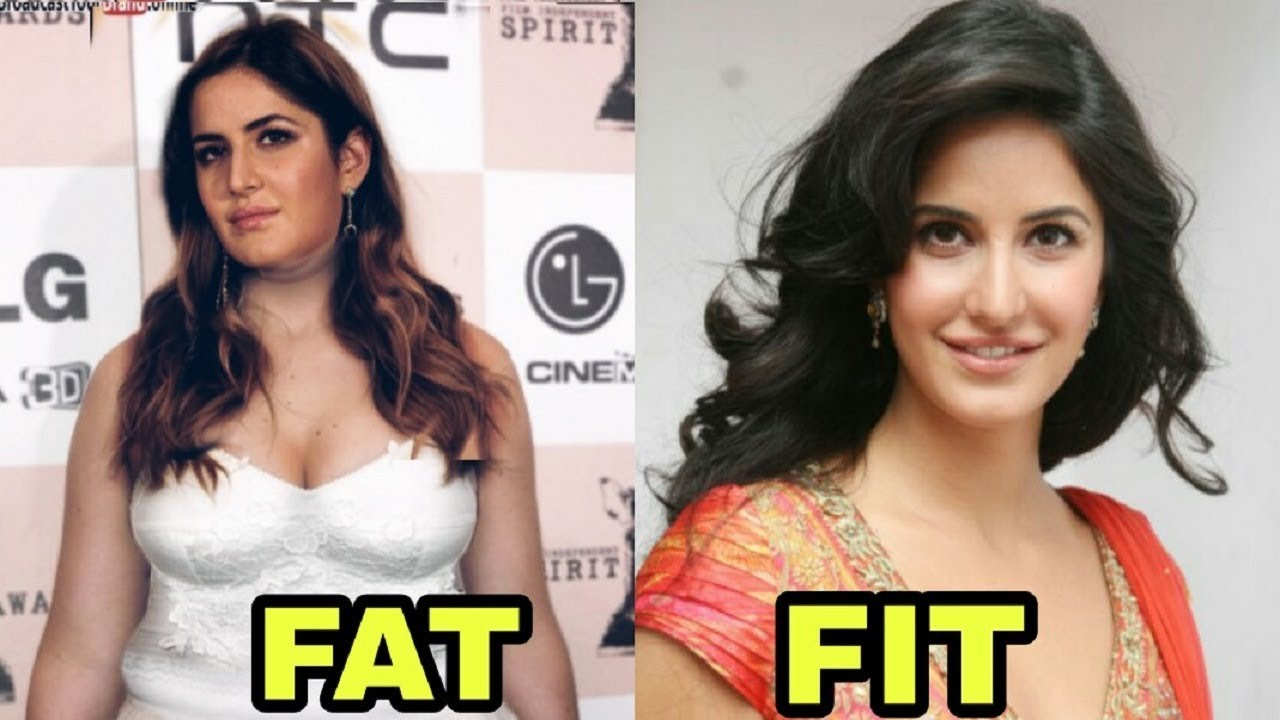 top 10 bollywood actress before and after weight loss - indian