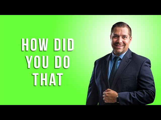 How Did You Do That with Lee Morris of Fstoppers.com