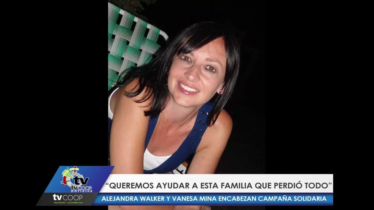 """Alejandra Walker : """"Queremos ayudar a esta familia que pidió todo"""""""