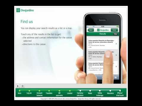 Demo - Desjardins mobile services
