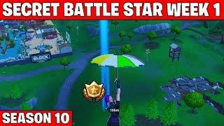 Secret battle star week 1 - Fortnite season 10