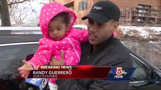 Missing 2-year-old girl found safe at nearby home