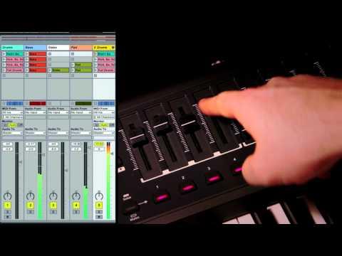 Novation // SL MkII and Impulse Controlling Ableton Live