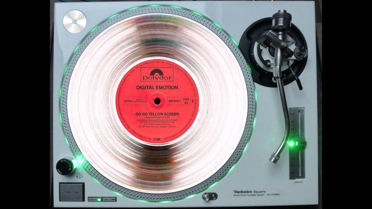 Download DIGITAL EMOTION - GO GO YELLOW SCREEN (ELECTRIFY REMIX RE-EDIT) (℗1983 / ©2002 / ©2014)